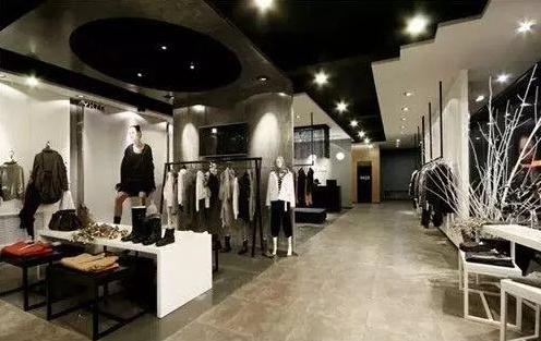 沾化服装店装修案例5