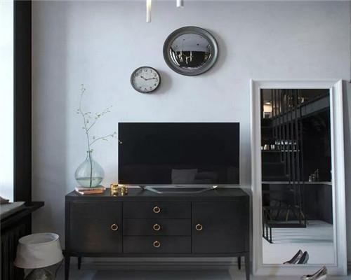 武汉24平米loft户型公寓装修效果图 简约舒适质感大方