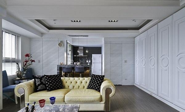 兴化三室两厅装修风格