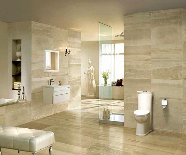 卫生间贴瓷砖的价格