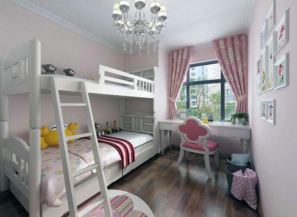 一个卧室怎么改两间儿童房 一儿一女儿童房隔断设计