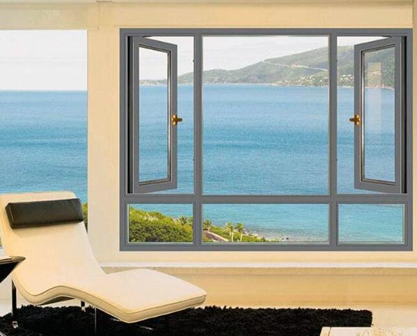欧式铝盒金圆弧形窗子