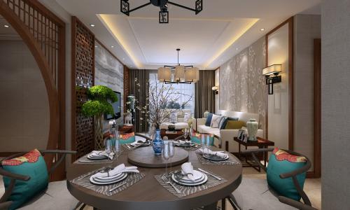 广州115平米室内装修