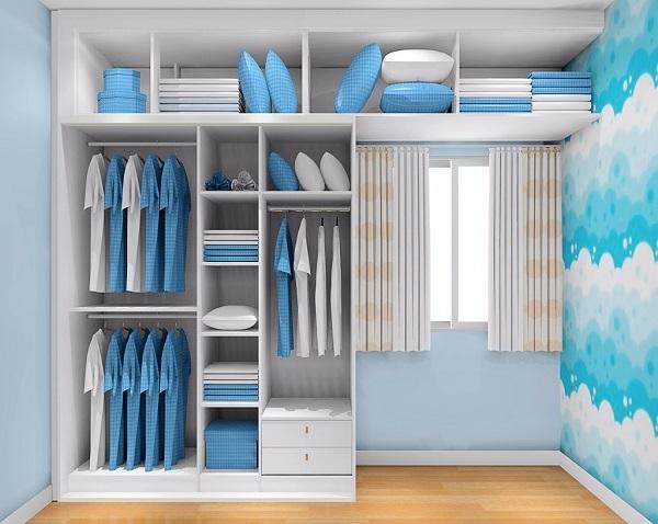 儿童衣柜如何设计好 2018实用的儿童衣柜样式图片