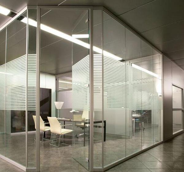 办公室玻璃隔断报价