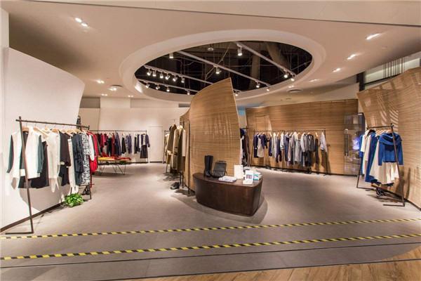 30平米个性创意服装店装修设计效果图片