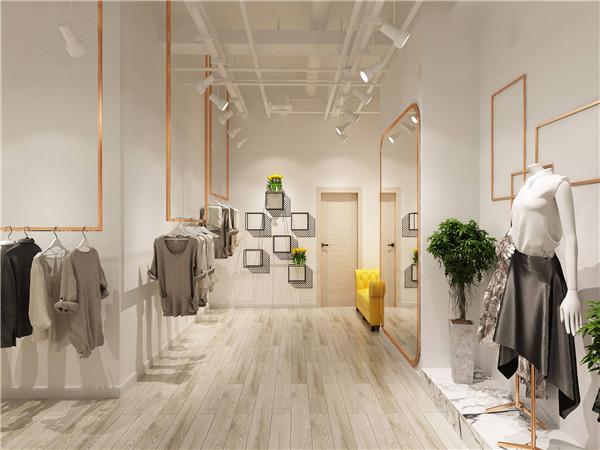 厦门服装店装修设计哪家好 厦门30平米服装店装修效果