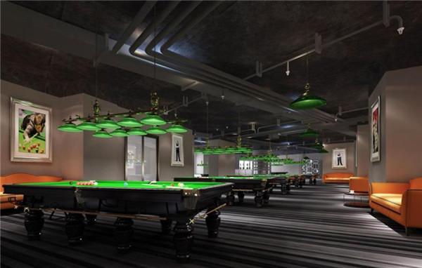 天津台球厅装修多少钱