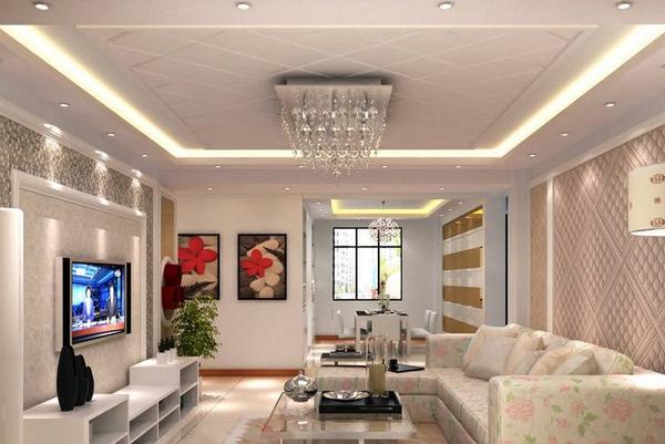 客厅吊顶装射灯还是筒灯 客厅吊顶射灯怎么布置