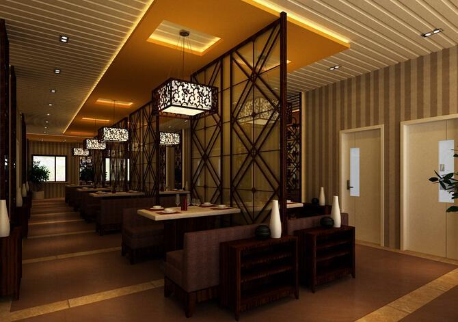 长沙饭店装修设计 长沙饭店装修效果图
