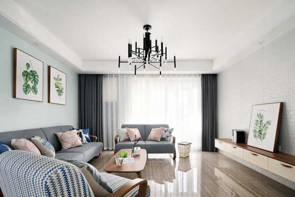 100平米房子北欧风格装修价格