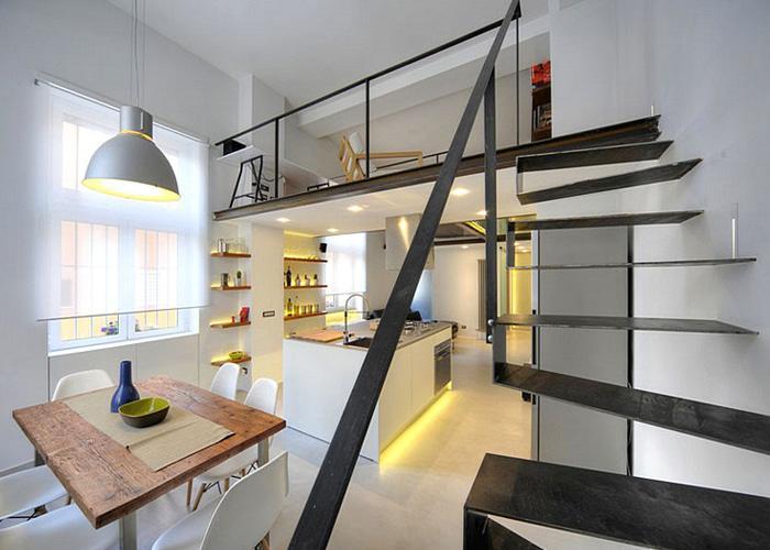 复式公寓装修效果图图片
