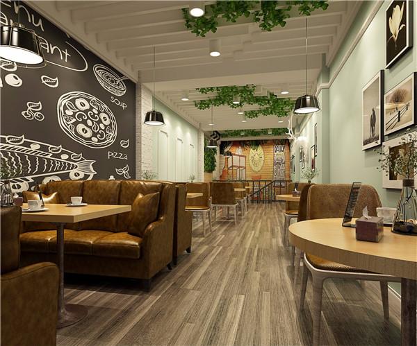 福州装修公司咖啡厅设计案例