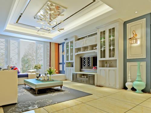 广州公寓装修地中海风格效果图