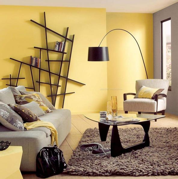 客厅墙面颜色选择搭配