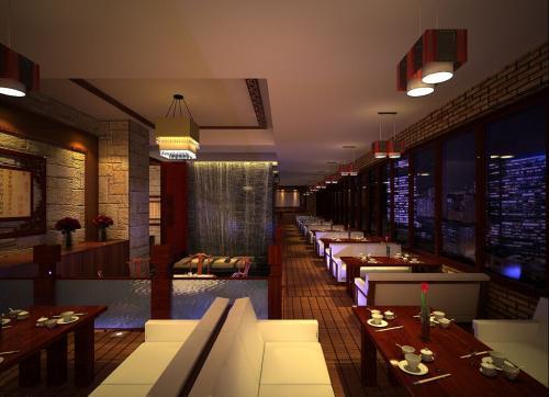 黄冈茶餐厅装修多少钱