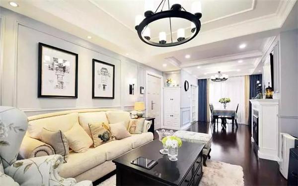 杭州两居室客厅装修