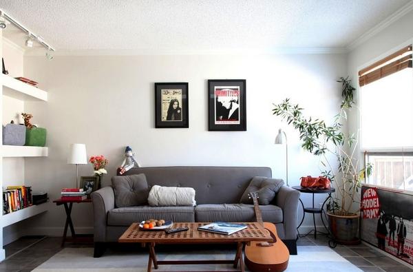 客厅不放电视怎么设计