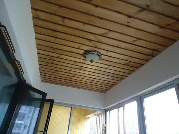阳台生态木吊顶安装方法