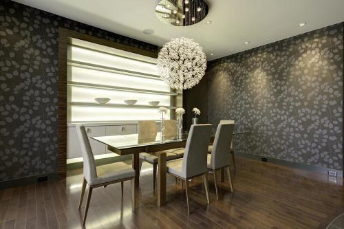 资阳餐厅装修中式风格效果图