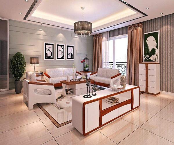 白色家具配什么颜色的墙