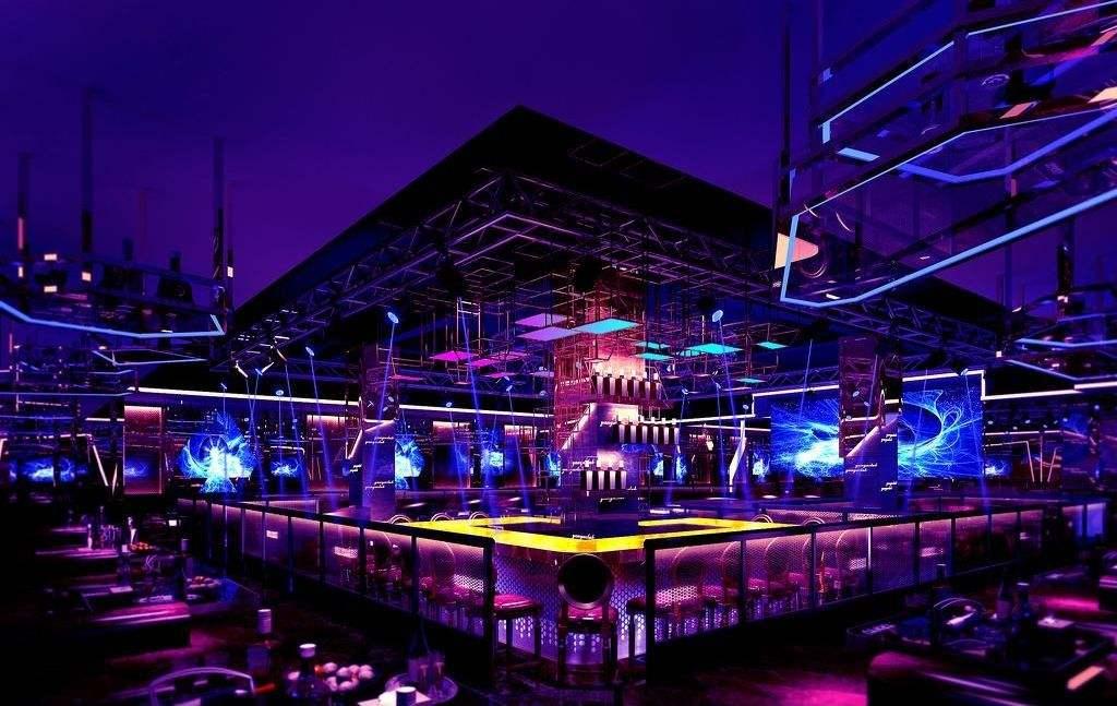 大型酒吧装修效果图