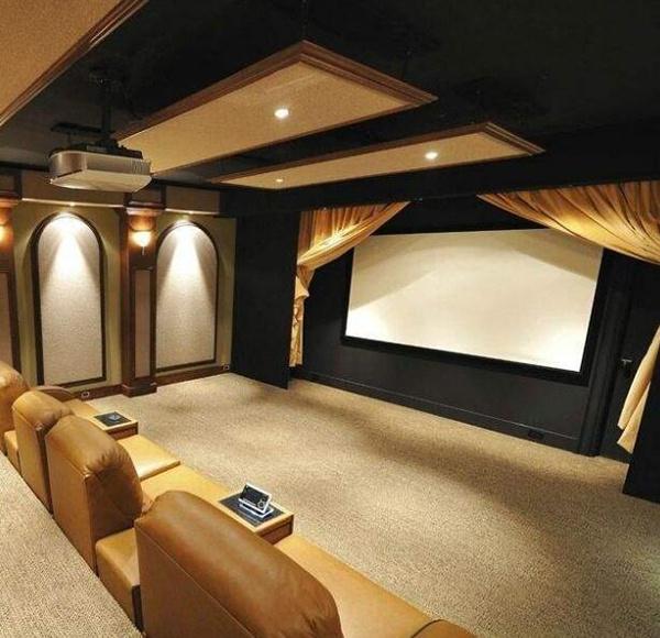 家庭影院装修效果案例