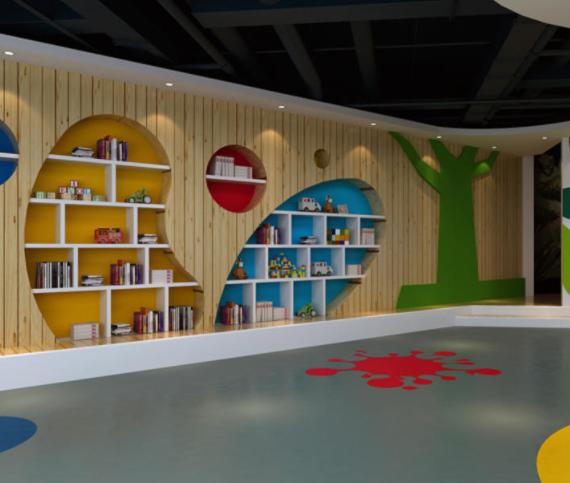 济南幼儿园装修设计案例