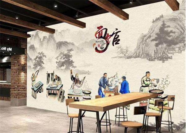 杭州面馆装修效果图