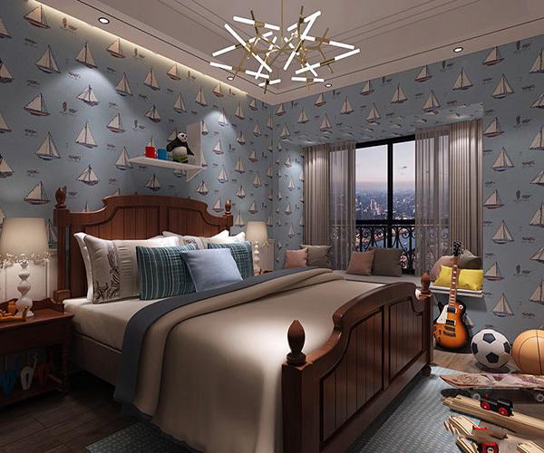 床头背景墙效果图片