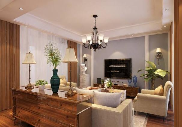 别墅客厅装修案例