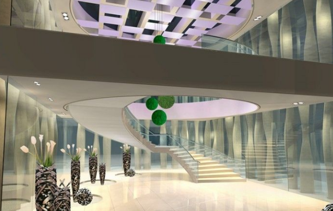 商场楼梯装修效果图
