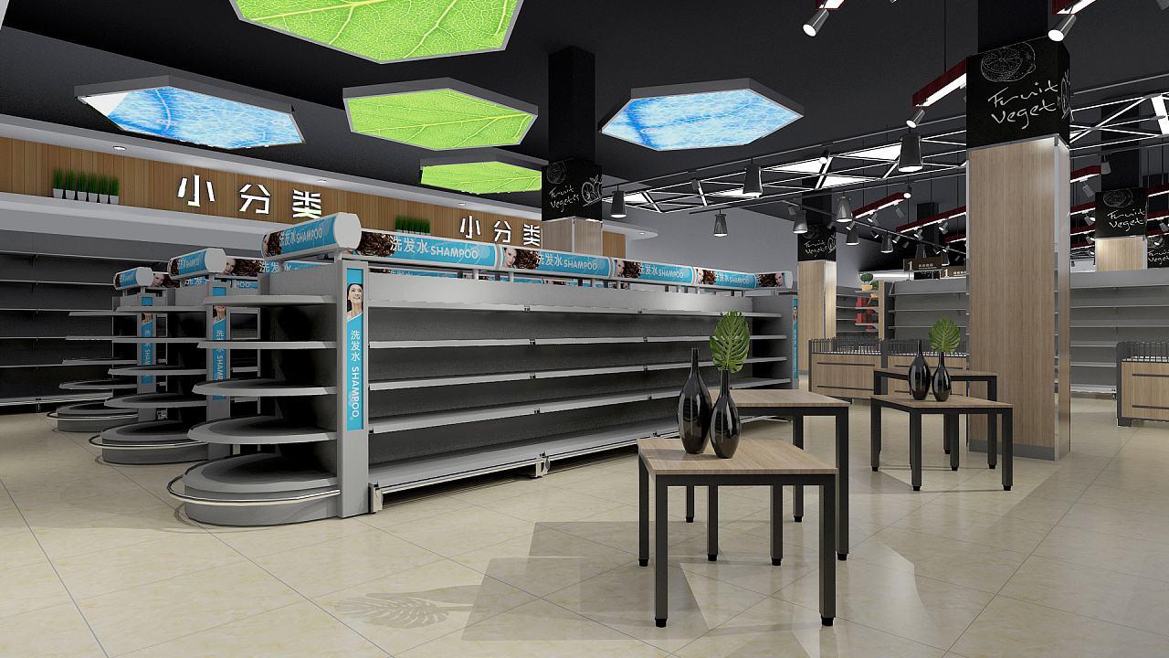 南宁超市装修设计图图片