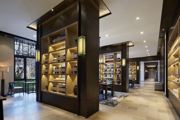 芜湖图书馆装修的案例