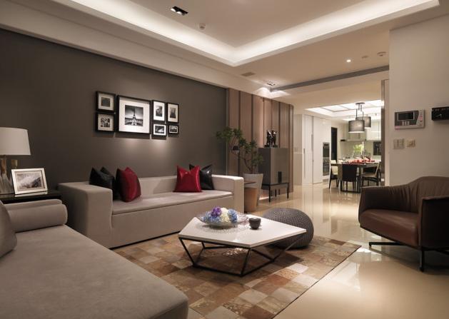 出租房客厅设计案例