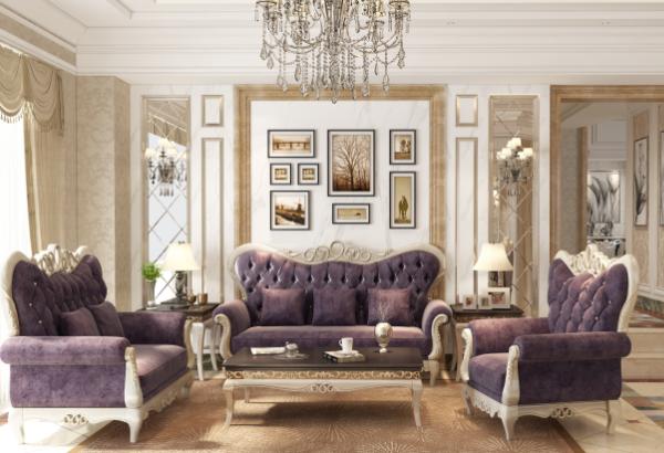 现代简约风格小户型客厅灯