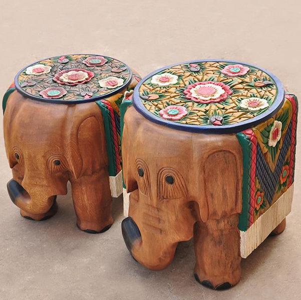 大象木雕可以摆家里吗