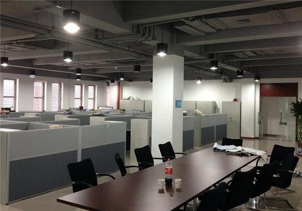 南京办公室装修设计案例