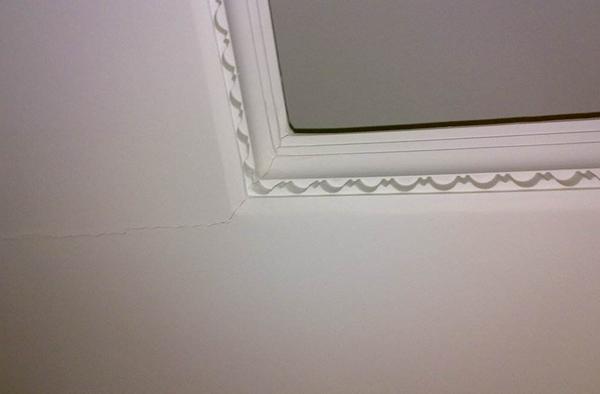 吊顶裂缝修复最佳办法