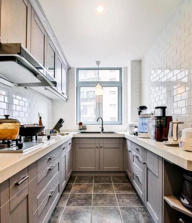 160㎡混搭风格厨房装修