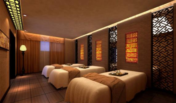 中式美容院装修案例