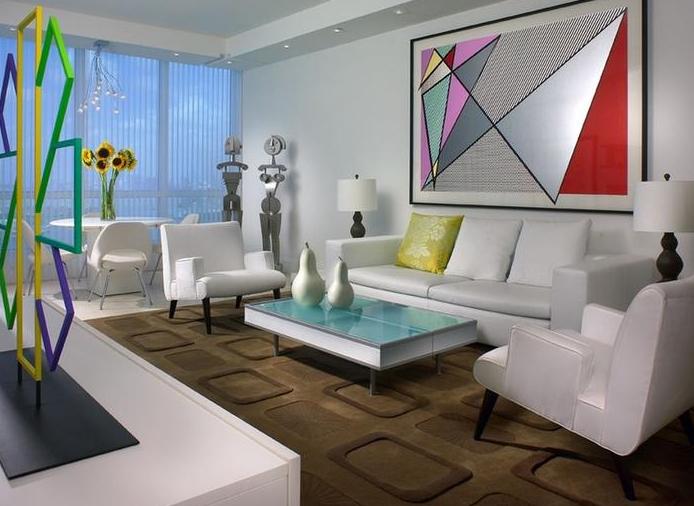 三室两厅两卫的装修现代风格客厅