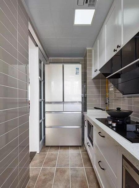 现代美式厨房装修案例