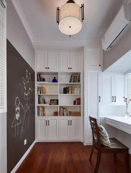 现代美式书房装修案例