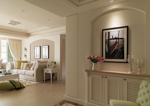 宿州恒大御景湾2室二厅装修客厅设计