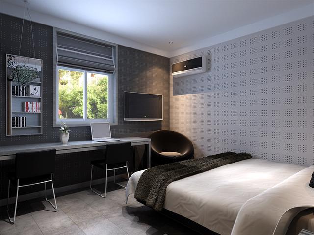 卧室装修后图片