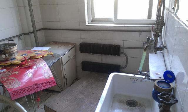 厨房装修前图片