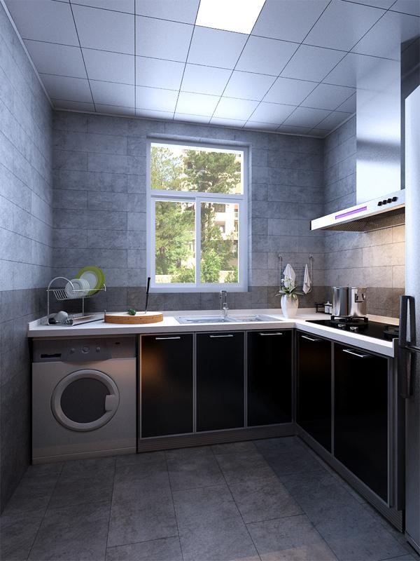 厨房装修后图片
