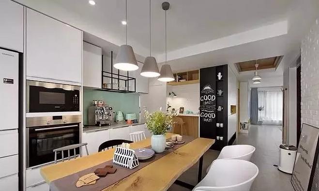 餐厅和厨房装修效果图