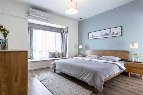 原木现代风卧室设计